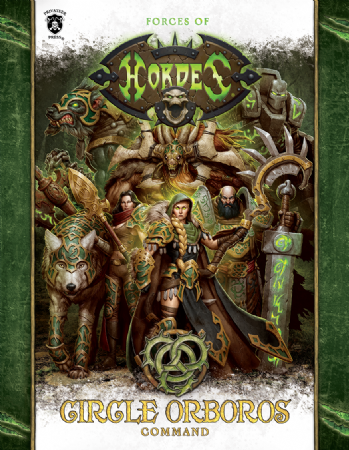 Forces of Hordes: Circle Orboros Command (soft cover)